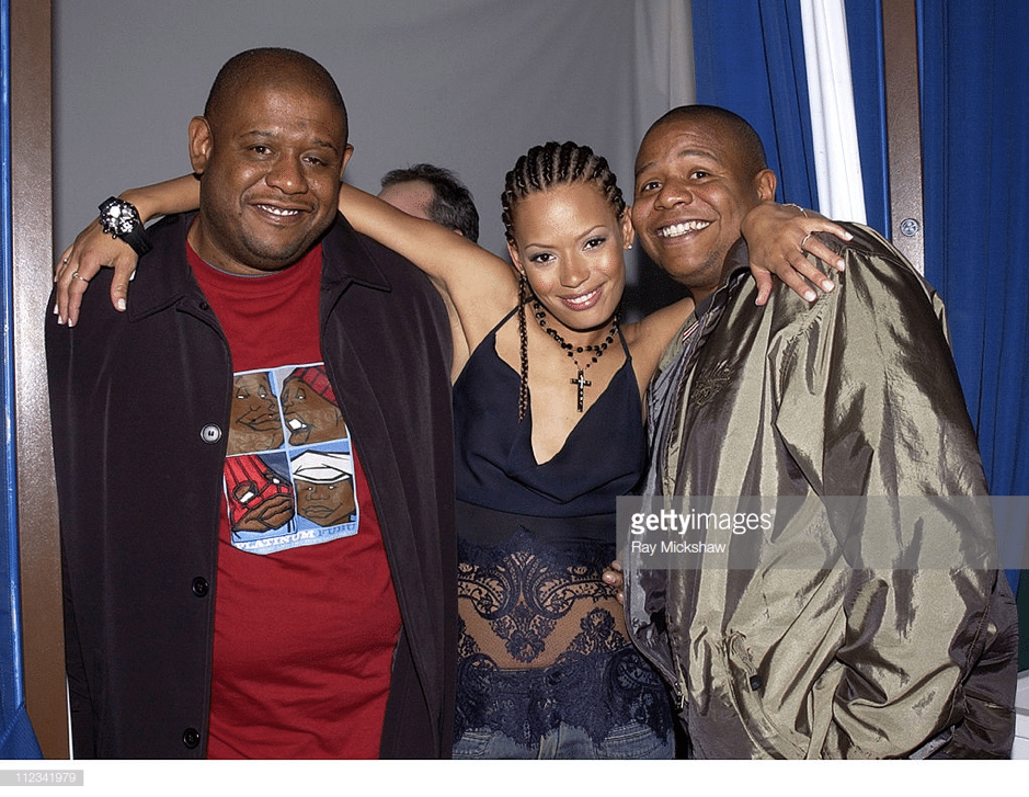 Keisha, Forrest and Damon Whitaker