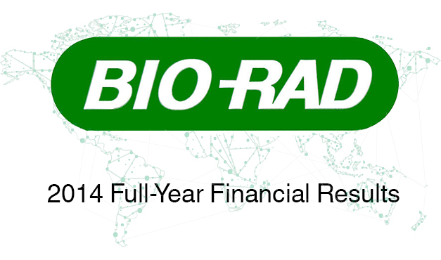 Bio-Rad Reports Strong Fourth-Quarter and Full-Year 2014 Financial Results