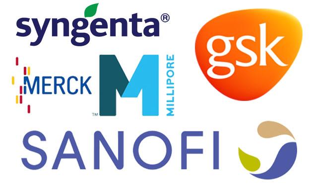 Merck, Sanofi, Syngenta & GSK announce full year results for 2014