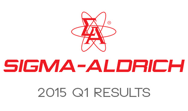 Sigma-Aldrich Announce Q1 2015 Sales Figures