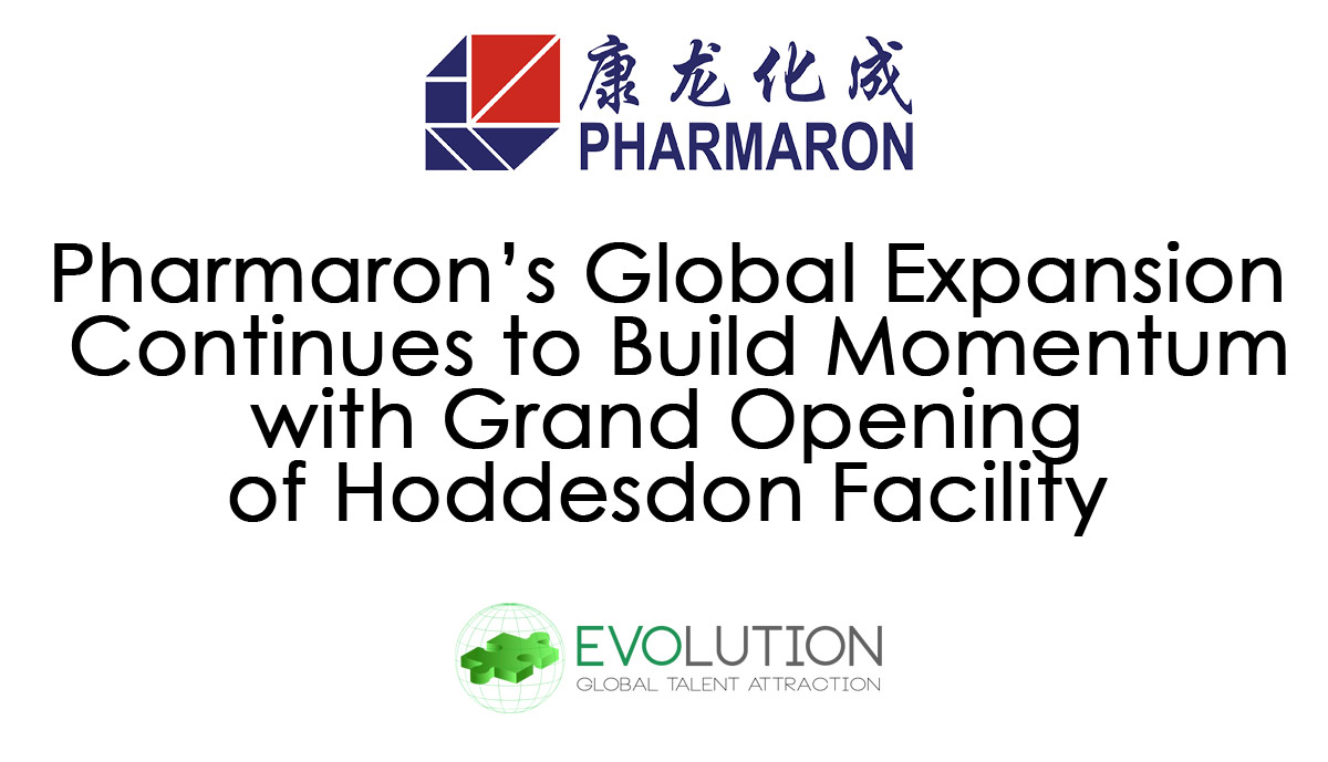 Pharmaron Continue Their Global Expansion with Grand Opening of Hoddesdon Facility