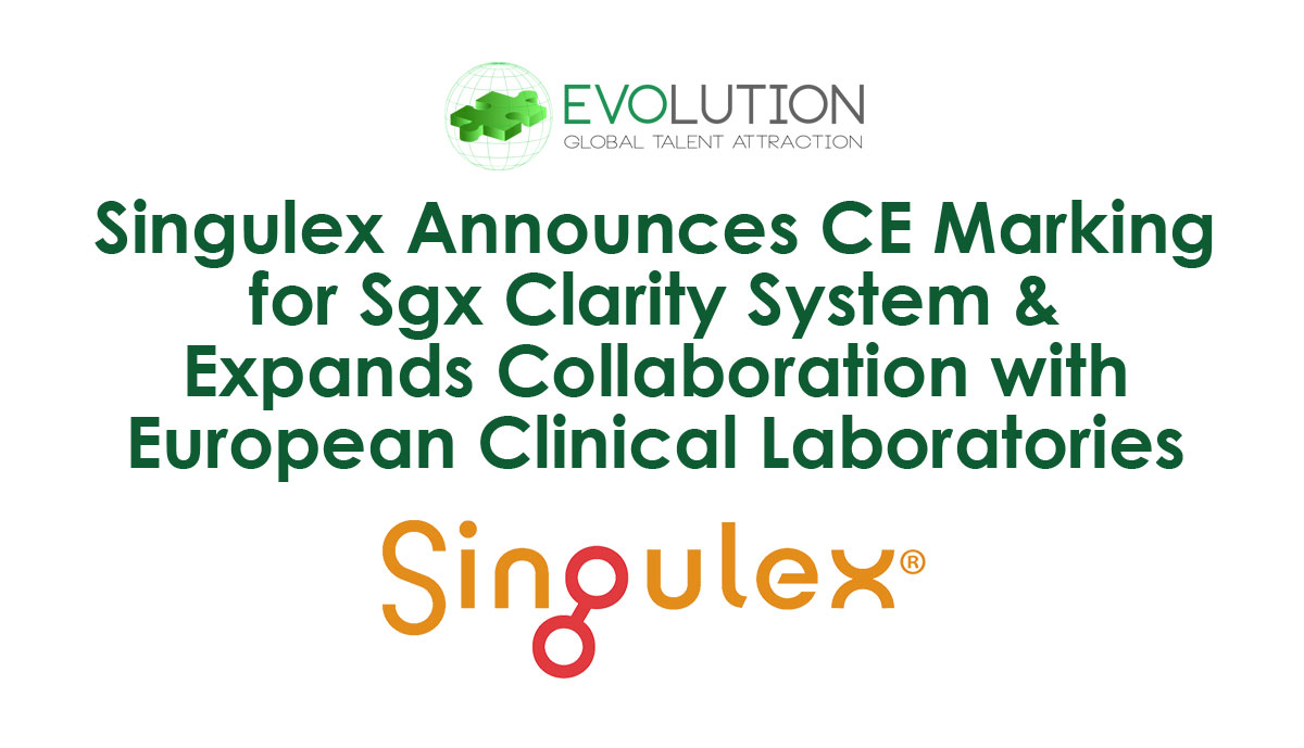 Singulex Announces CE Marking for Sgx Clarity® System & Expands Collaboration with European Clinical Laboratories