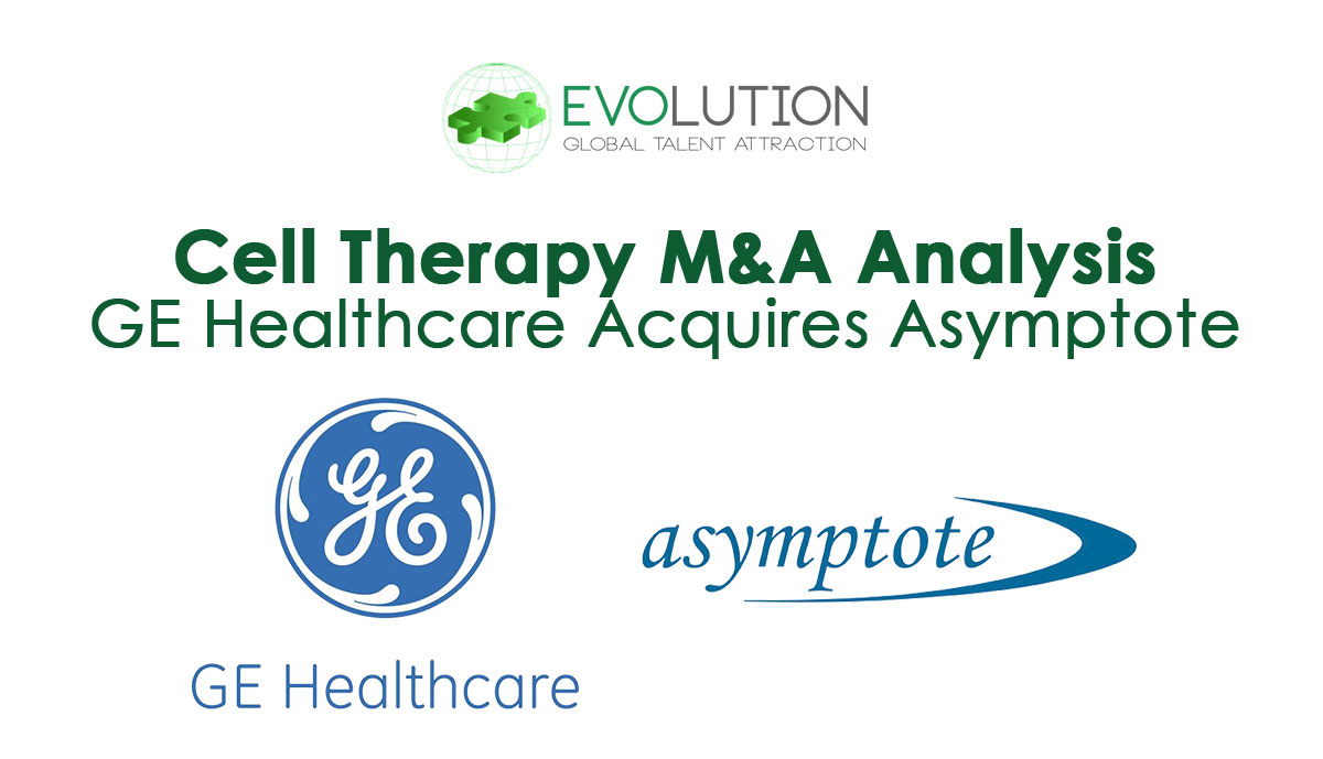 GE Healthcare Adds to Its Cell Therapy Portfolio with Acquisition of Asymptote