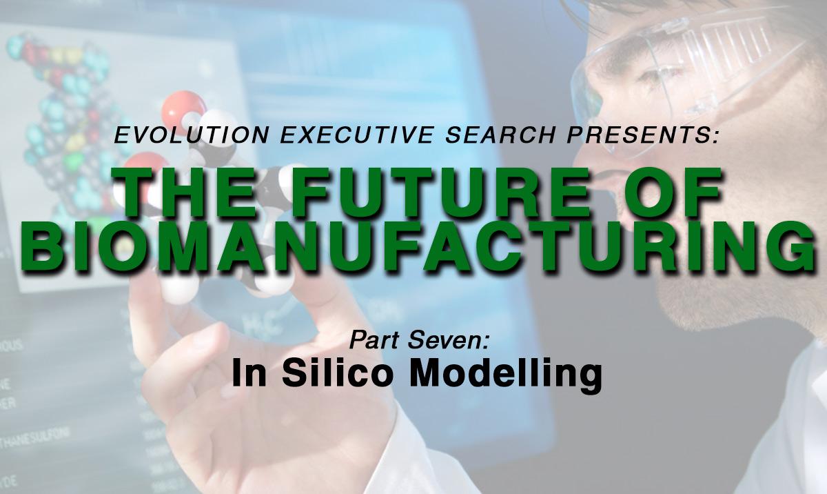 The Future of BioManufacturing: In Silico Modelling