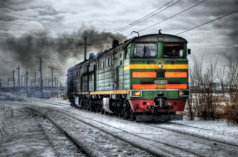A diesel train: The history of remote working has partly been driven by environment issues
