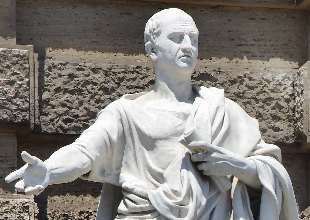 Cicero used The Five Canons of Rhetoric