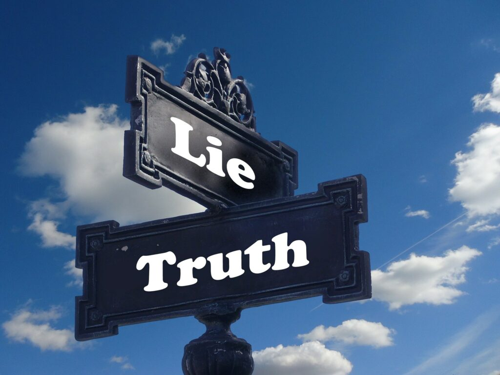 Two truths and a lie is a simple team-building activity