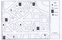 One map for the map game team building activity