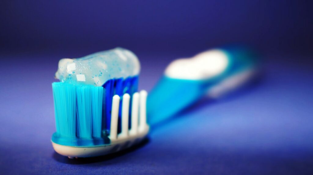 A toothbrush. Our simple introduction says habits are things we do almost without thinking about
