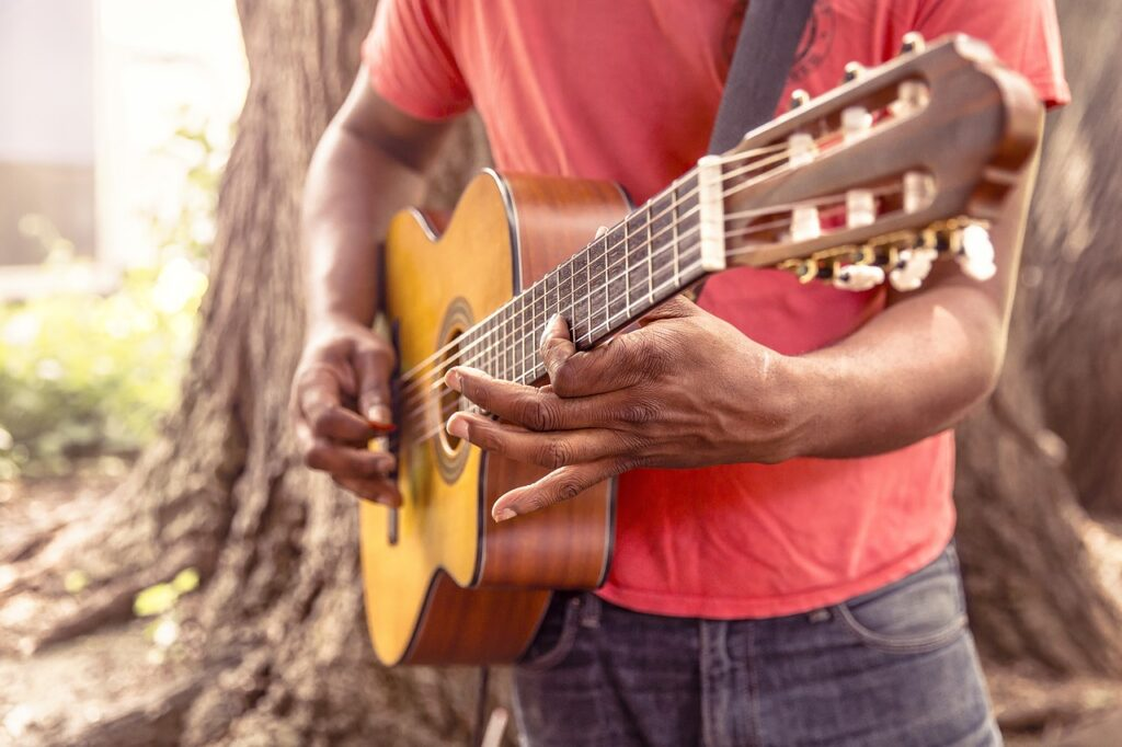 A guitar - muscle memory is a form of automaticity