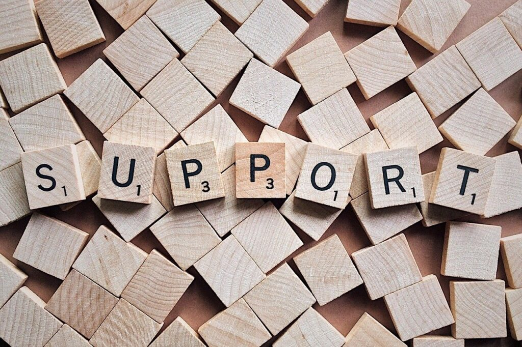 Increasing Support Increases Resilience