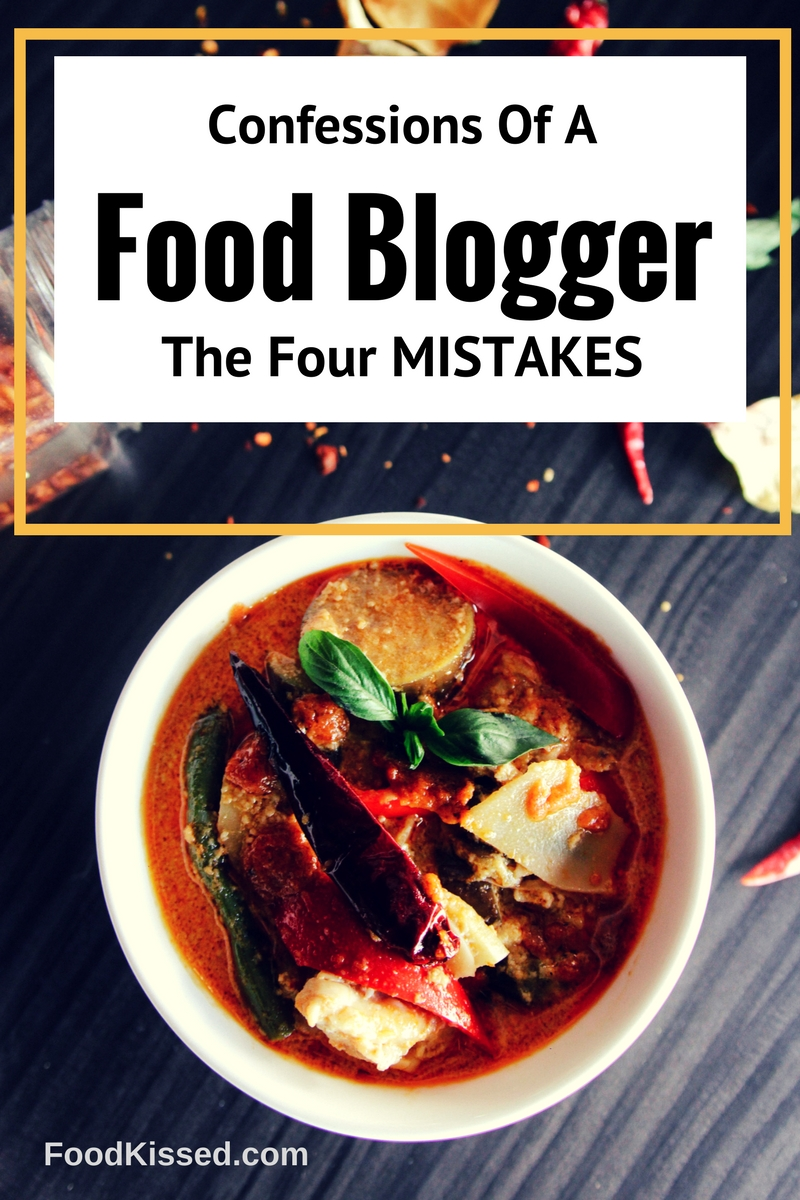 4 Mistakes of a UAE Food Blogger