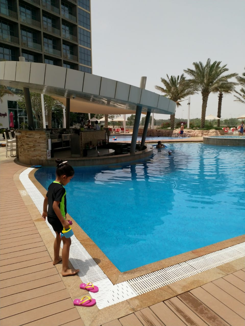 Yas Island Rotana Swimming Pool