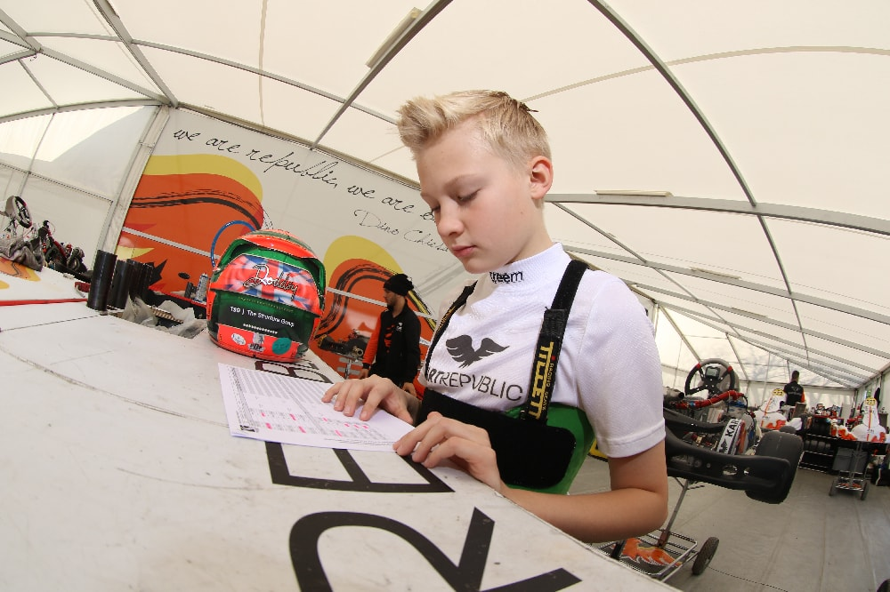 maxwell-dodds-racing-go-kart-racing-driver-reviewing-data