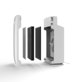 EZVIZ launches new solution to purify and disinfect indoor air through a four-stage filtration system