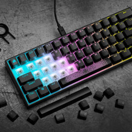 CORSAIR Launches K65 RGB MINI 60% Mechanical Gaming Keyboard