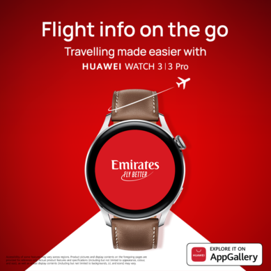 Flagship HUAWEI WATCH 3 | 3 Pro officially adds Emirates App