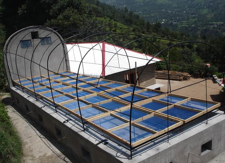 Installation of Solar Dryers