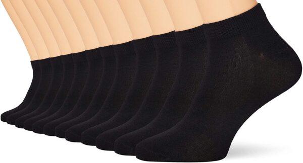 Multipack Bamboo Socks Black