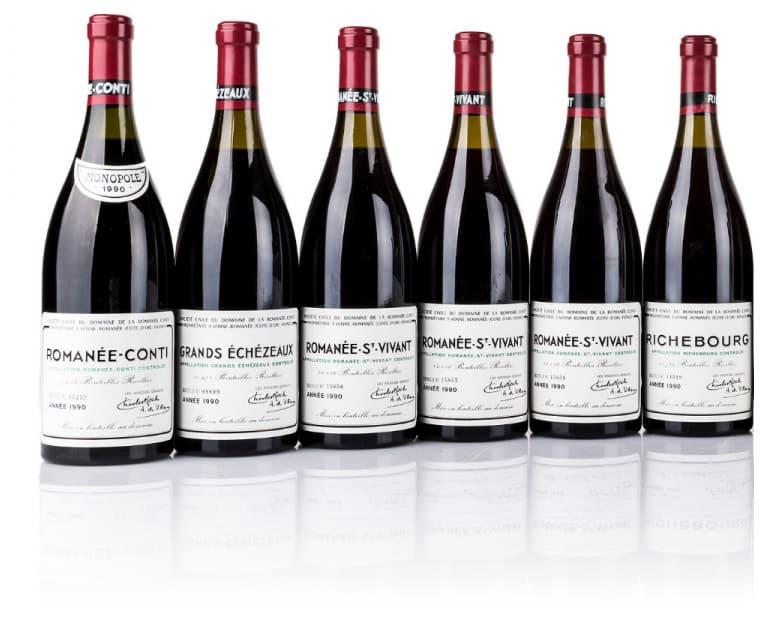 Bottiglie di vino pregiato