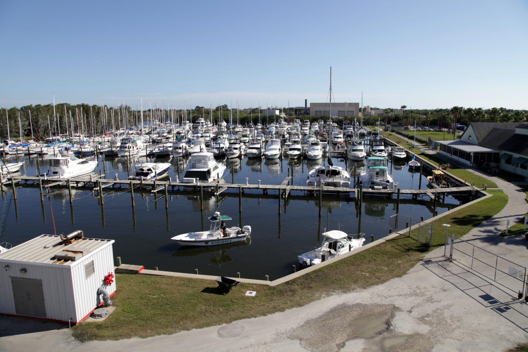 Harbortown Marina in Merritt Island Near Port Canaveral