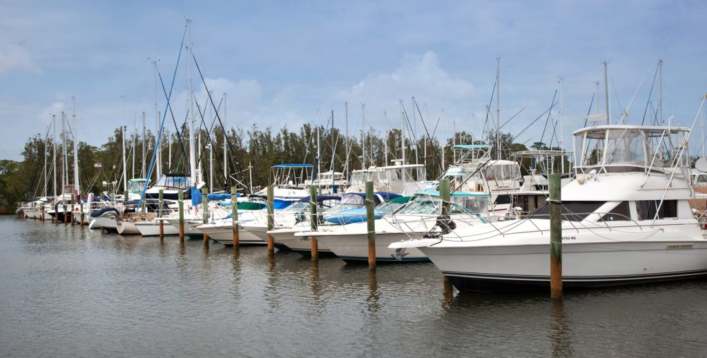 Harbortown Marina Port Canaveral Marina Wet Slip Boat Storage