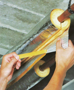 Glasswool Pipe Insulation 1