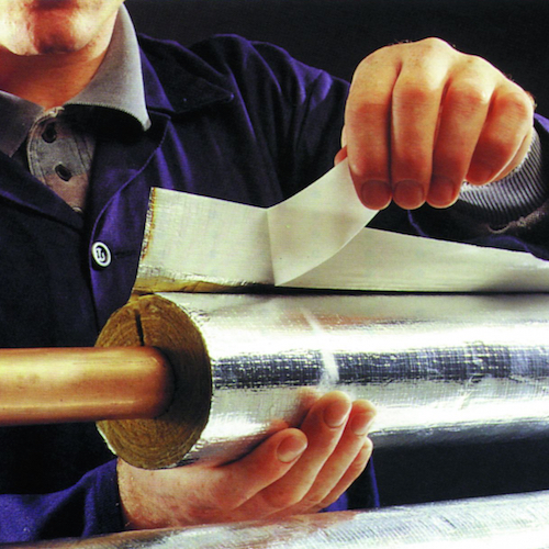 Rocklap Foil Face Pipe Insulation 2