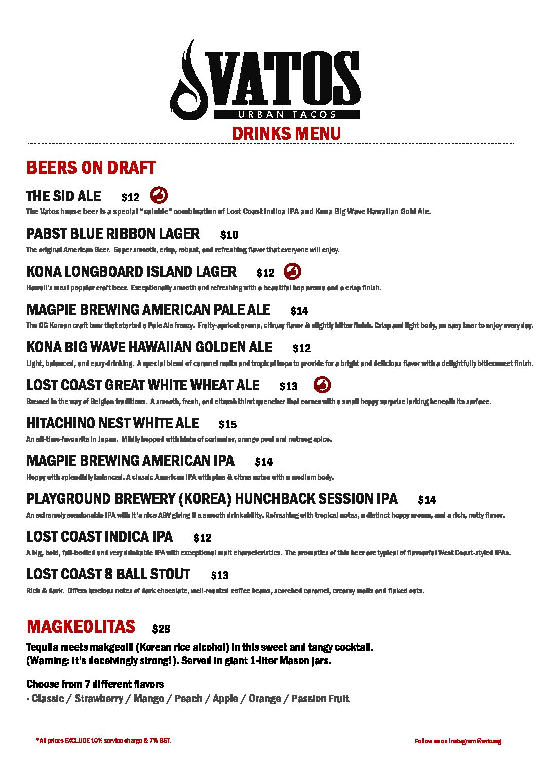 DRINKS PAGE 1