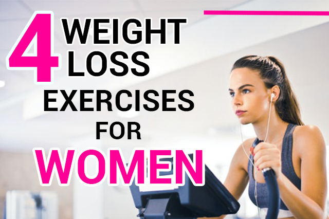 The best 4 Exercise for weight loss at home for female-Simple and Effective
