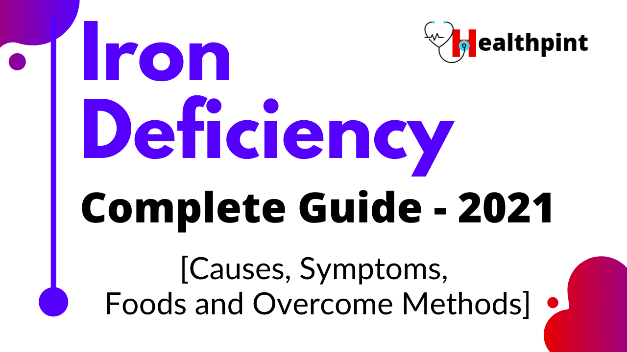 Iron Deficiency: The Complete Guide to Iron Deficiency for 2021