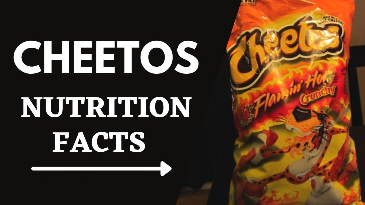 Cheetos Nutrition Facts and Ingredients