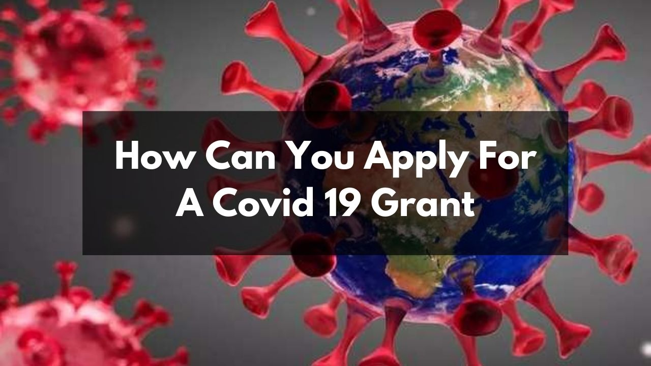 Read more about the article How can you apply for a covid 19 Grant?