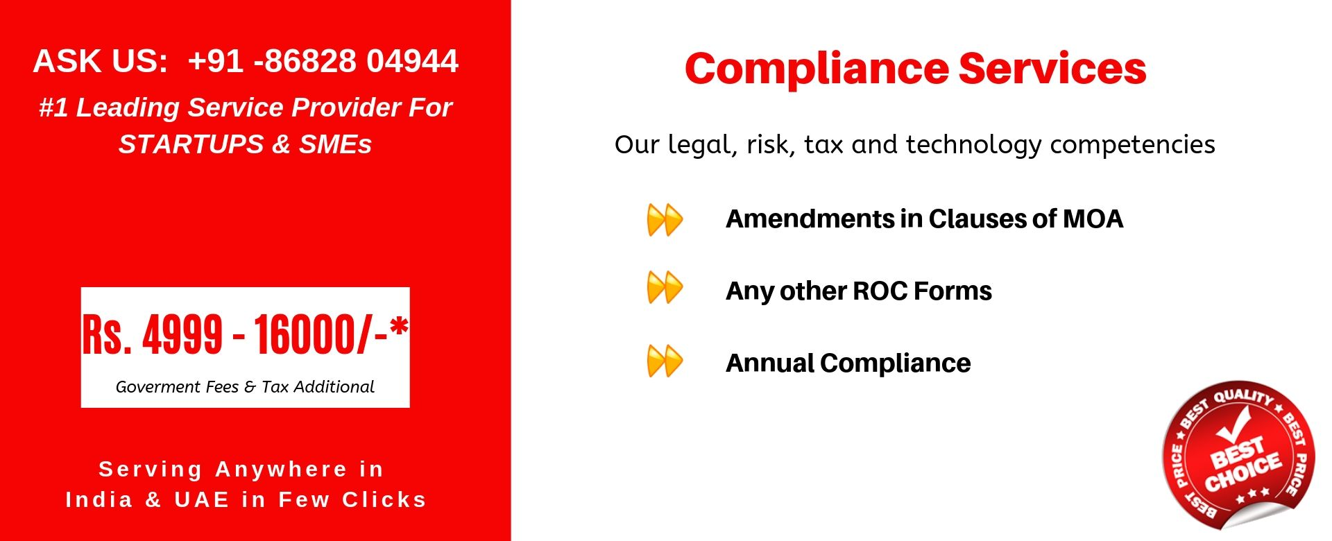 compliance in india