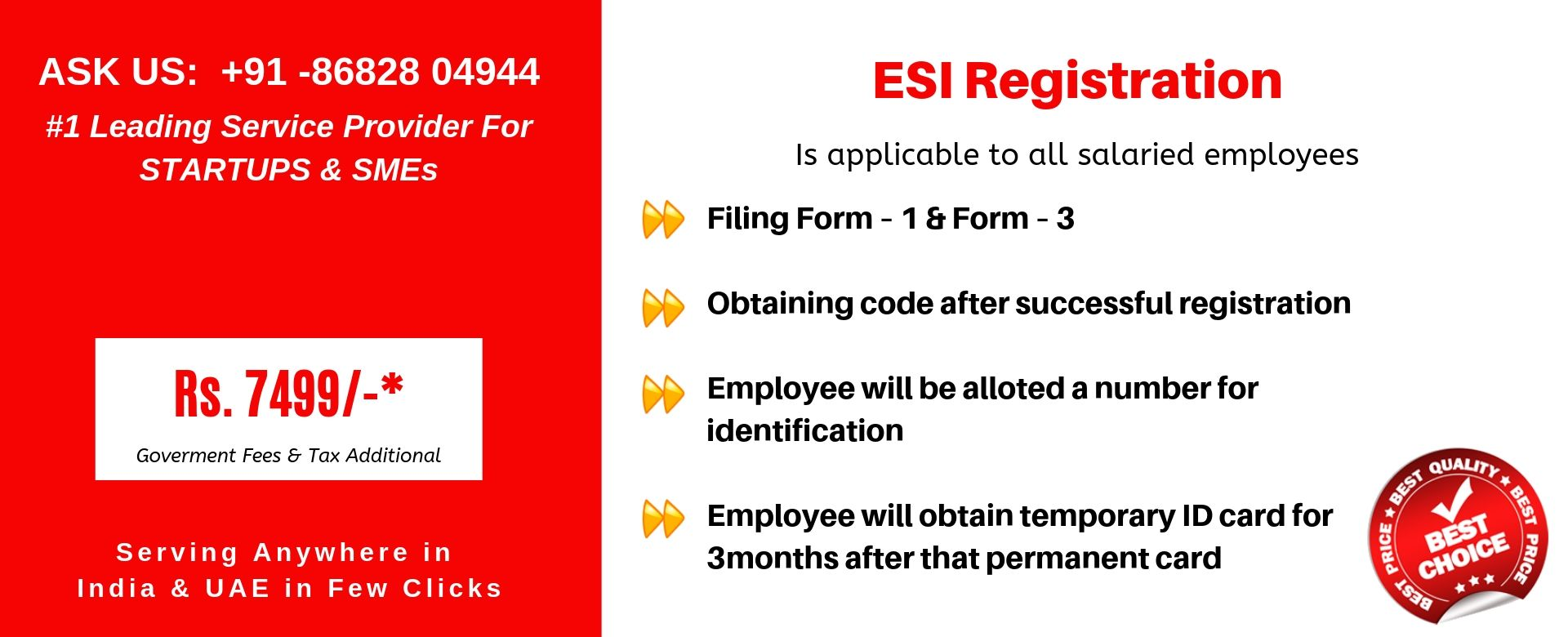 esi registration in india