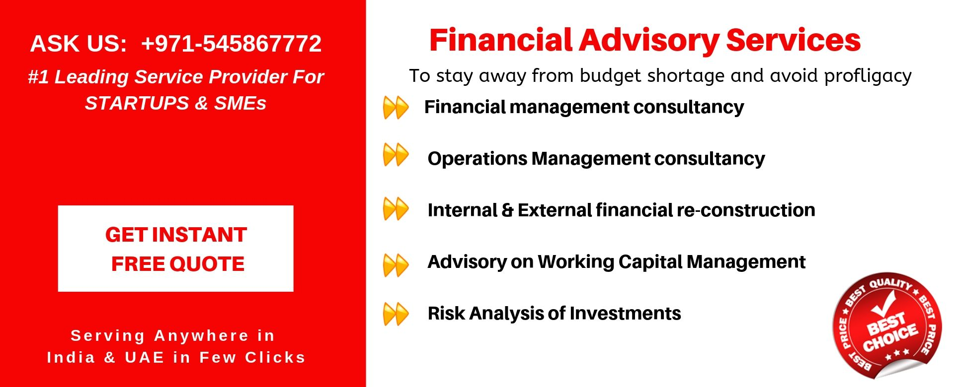 financial advisory services in uae