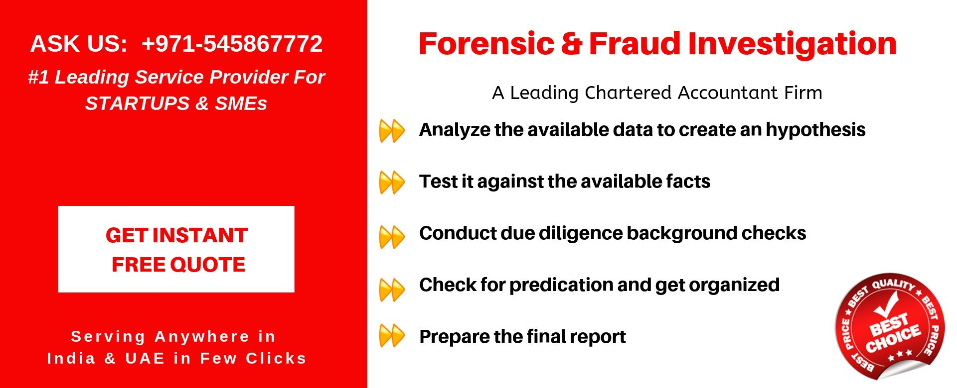 forensic fraud investigation in uae