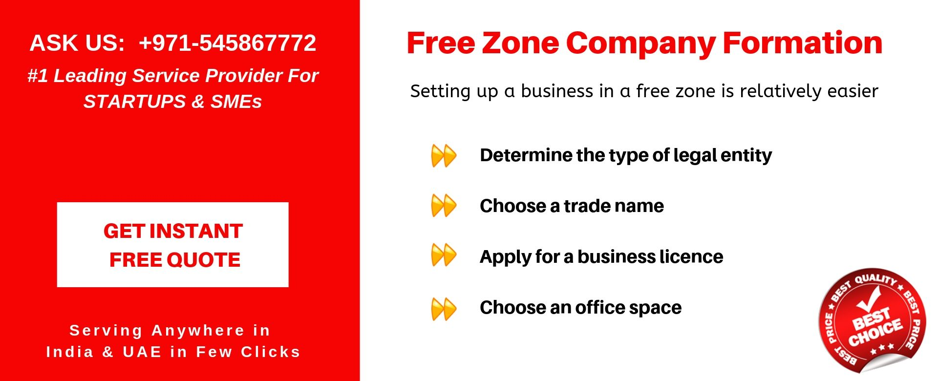 free zone company formation in uae