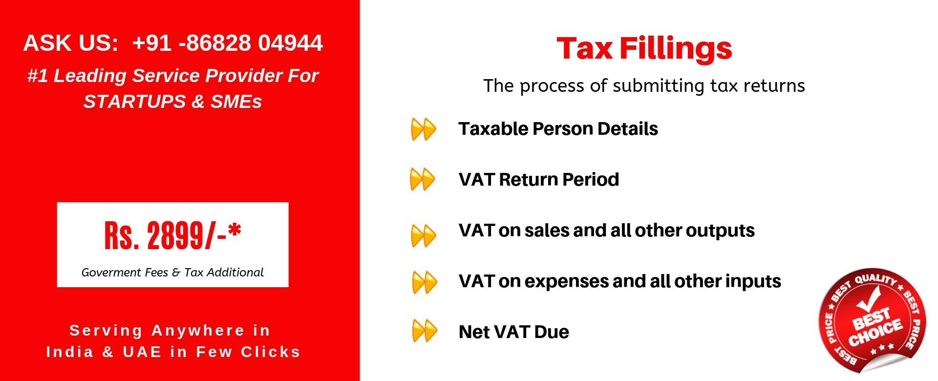 tax fillings india
