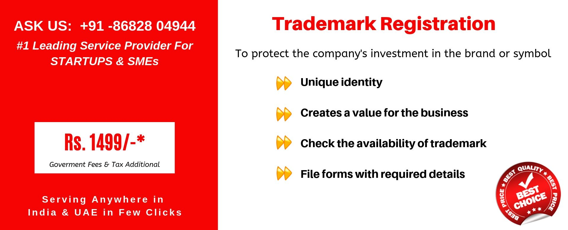 trademark registration in india