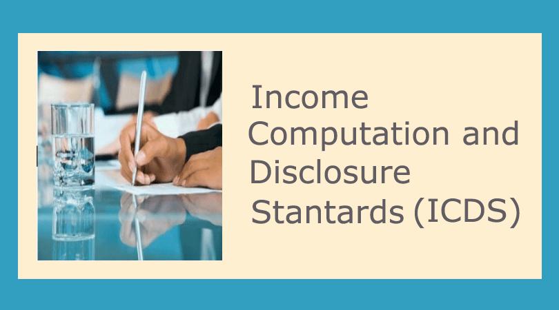 income computation disclosure standards icds