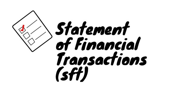 statement of financial transactions sft code