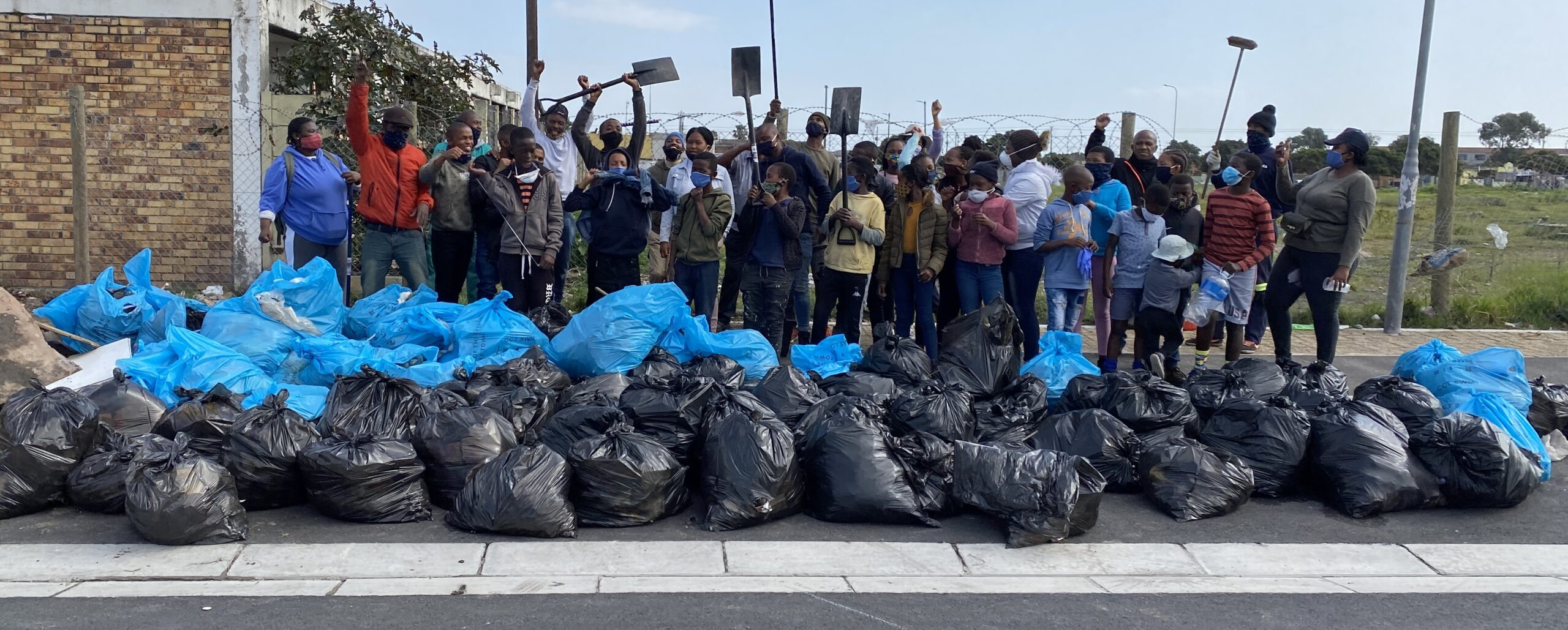 Gugulethu Youth Community Clean Up
