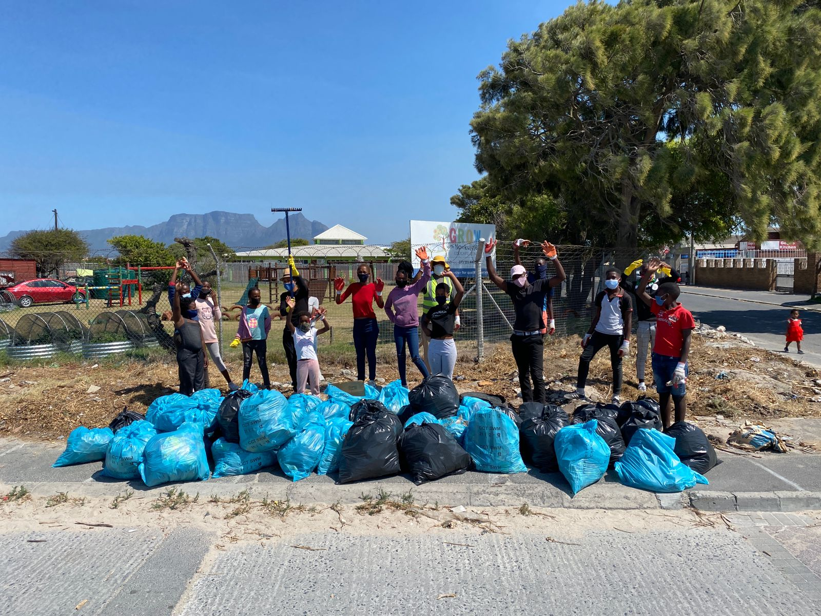First Gugs Youth Community Clean up of 2021