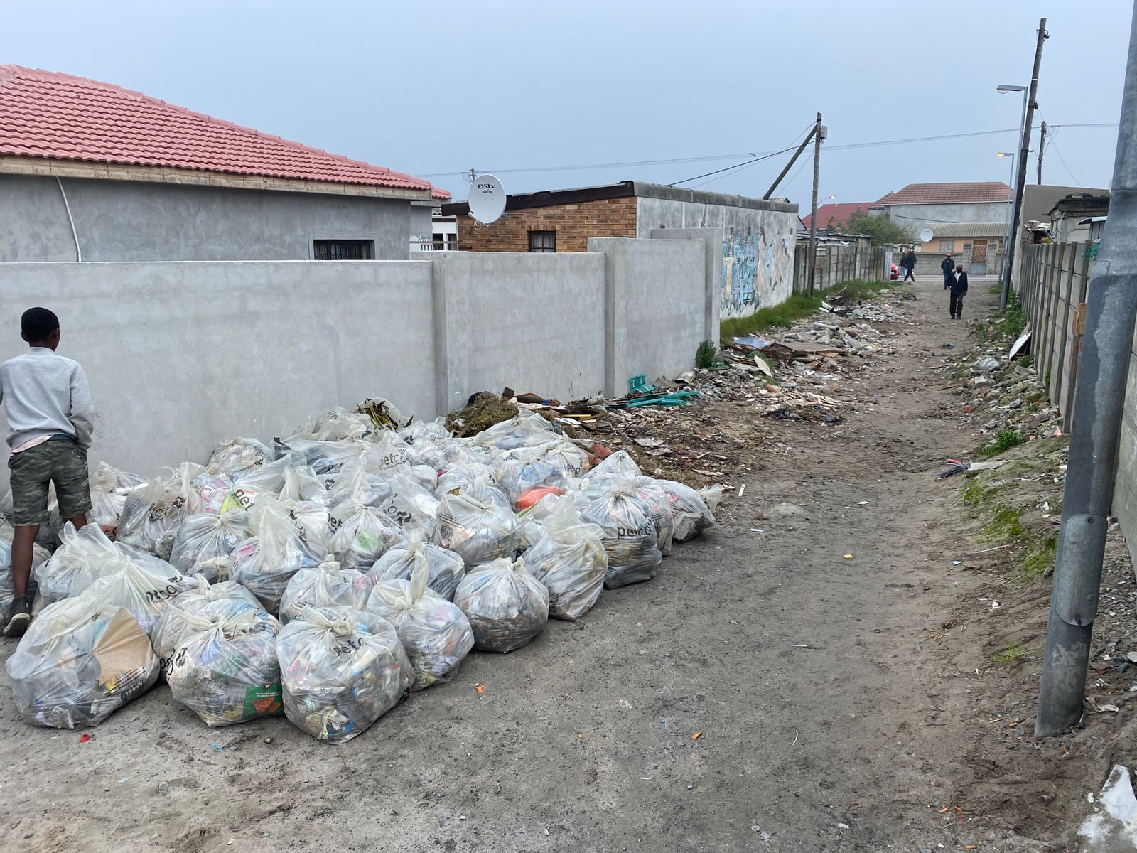 July Gugulethu cleanup, in August