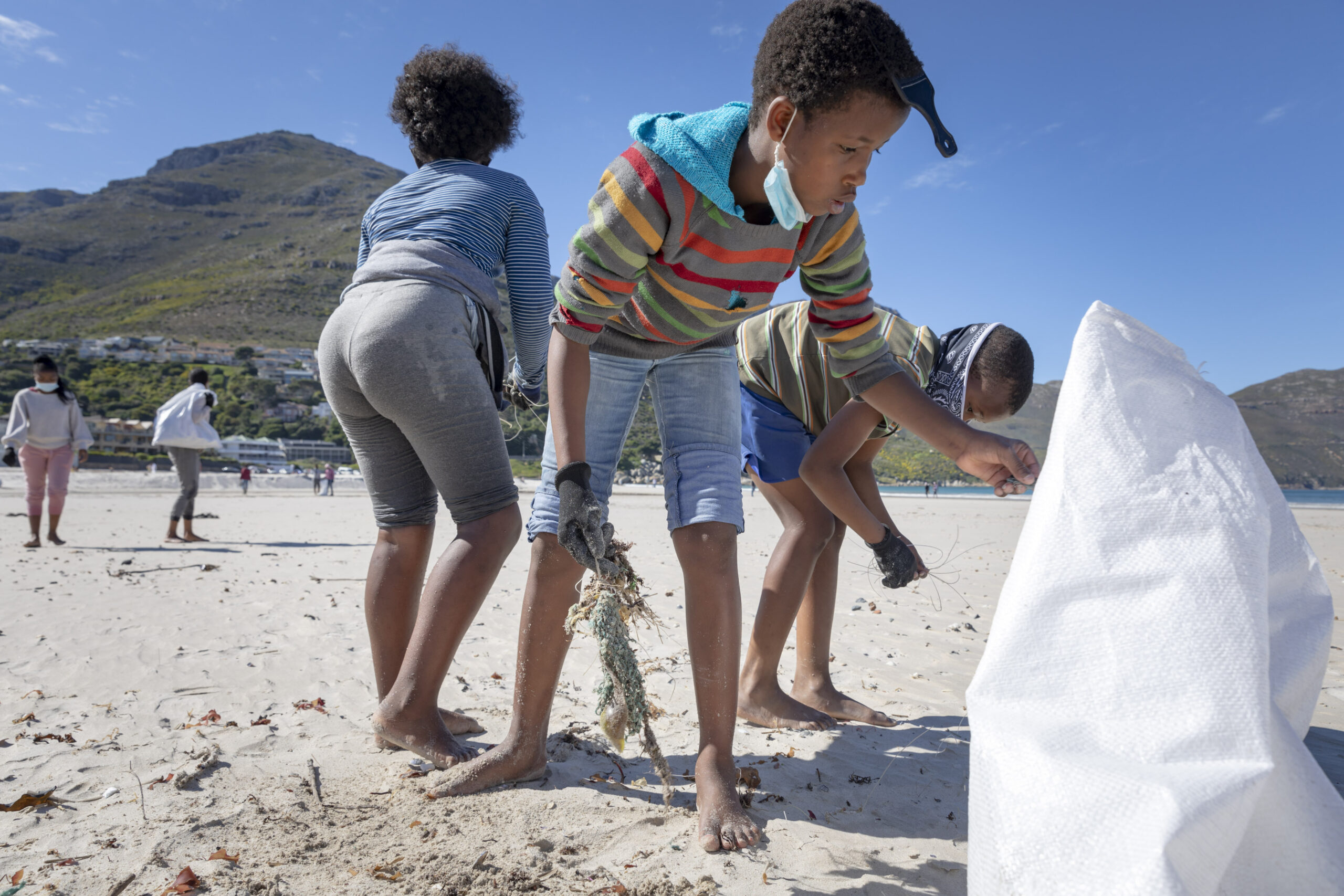 World CleanUp Day 2021 on Hout Bay Beach