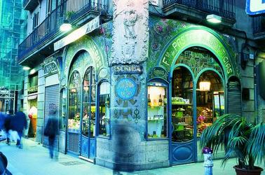 Exterior de la pastelería Escribà. (Imagen M.A.S.)