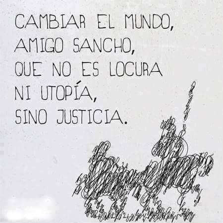 foto sancho no es utopia justicia inmobiliaria Barcelona
