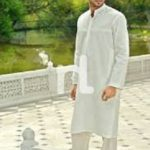 Eid Kurta Designs Men's Wear Naqsh Collection By Nishat Linen 2015