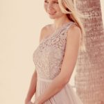 Best One Sided Lace Gowns To Wear In Parties 2015